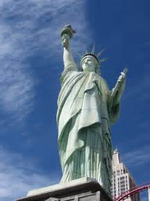 Liberty Statue New York Las Vegas
