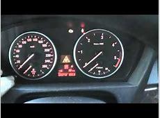 BMW X5 E70 Service interval oil service brake check reset