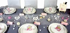 Deco Multicolore : id es de d coration de table et de salle pour un bapt me ~ Nature-et-papiers.com Idées de Décoration