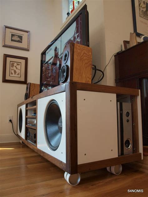 console  diy  fi project speaker htpc