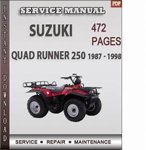 Suzuki Quad Runner 250 1987