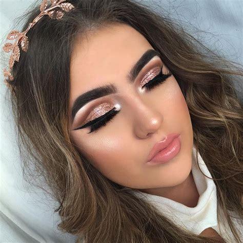 make up gold gold cut crease makeup gold makeup looks
