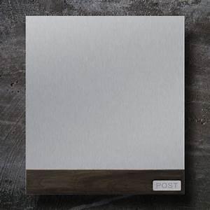 Briefkasten Holz Antik : briefkasten edelstahl b1 teak z e ~ Sanjose-hotels-ca.com Haus und Dekorationen