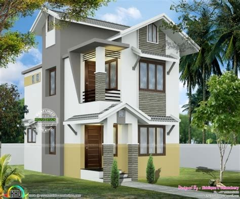 2 Cent House Plan Kerala