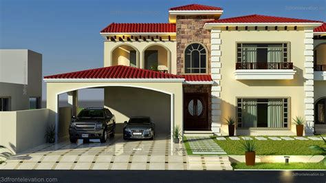 One Wall Kitchen Layout Ideas - 3d front elevation com beautiful mediterranean house plans design architectural designs