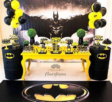 Kara's Party Ideas Black And Yellow Batman Birthday Party