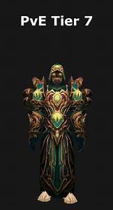 Transmogrification Warlock Pve Tier 7 Set  Wod 6 2