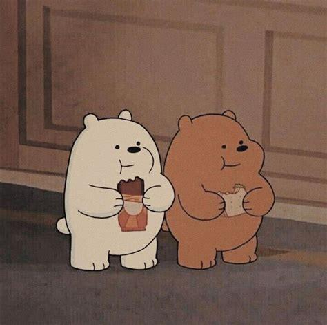 gizzly ice bear kartun ilustrasi karakter gambar