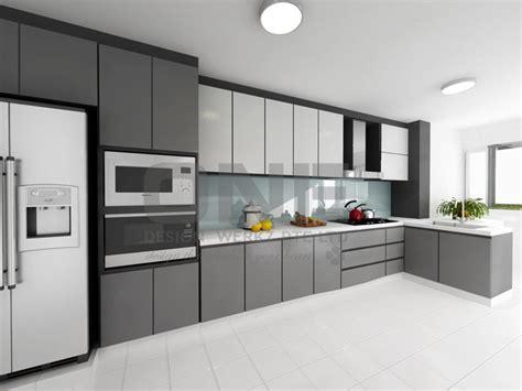 Two Island Kitchens - hdb kitchen