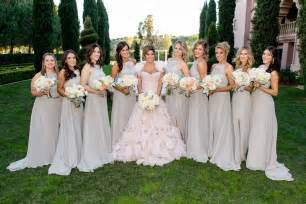 light gray bridesmaid dress brides bridesmaids photos light grey ruffle bridesmaid dresses inside weddings