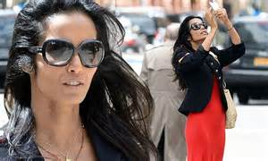 Padma Lakshmi steps out for first time since it's revealed ...