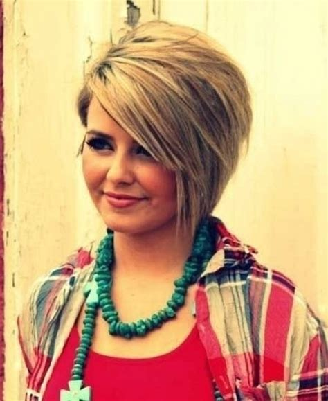Plus Size Short Hairstyles Women   hairstylegalleries.com