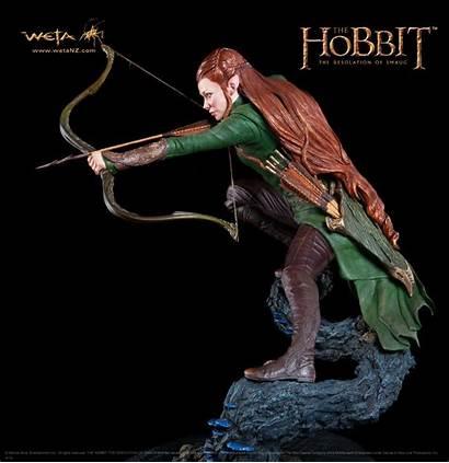 Tauriel Hobbit Weta Statue Lord Rings Evangeline