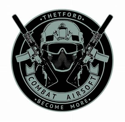 Airsoft Combat Thetford Private Event Logos 3rd