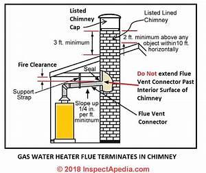 Gas Water Heater Vent Codes  U0026 Standards