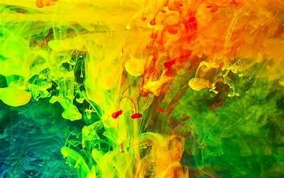 Liquid Abstract Paint Colorful Water Warna Gambar