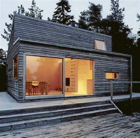 swedish prefab homes scandinavian retreat prefab woody 35