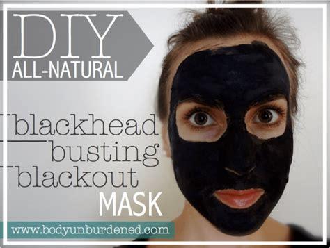 diy  natural blackhead busting blackout mask body