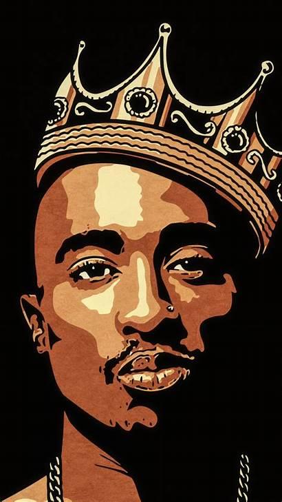 Tupac Cartoon Shakur Rapper Pop Dope 2pac