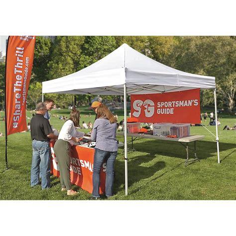 commercial grade pop  canopy     canopy screen pop  tents  sportsmans