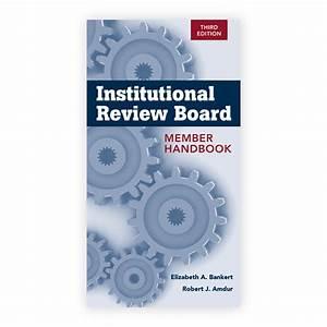 Institutional Review Board Member Handbook