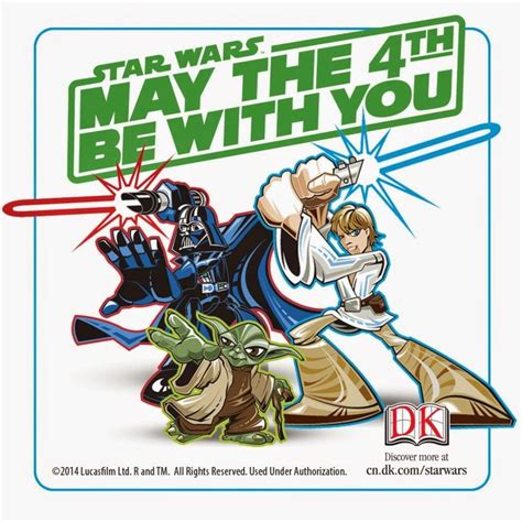May the 4th Be With You! Star Wars Day Fun with DK Books ...