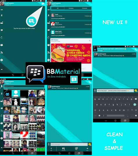 bbm mod material theme quot feel like l quot with clone full version free download games software