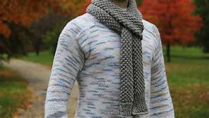 How To Knit Men U0026 39 S Scarf