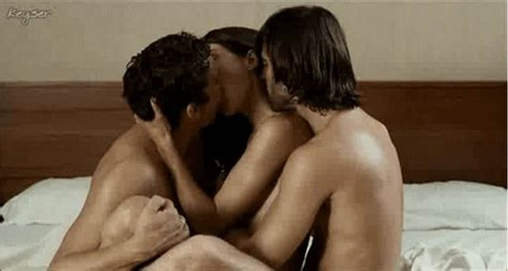 #Threesome #Mmf #Girl #Ignores #One #Guy
