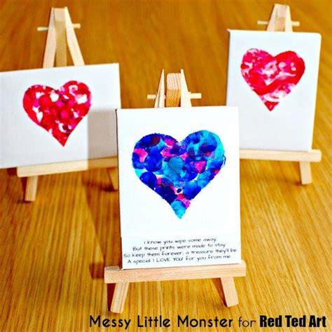 fingerprint keepsake  toddlers red ted arts blog