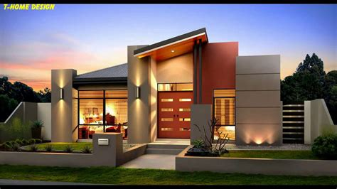 modern single storey house design   bedrooms youtube