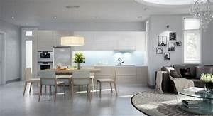 cuisine ouverte sur salon une solution pour tous les espaces With deco cuisine pour meuble salon