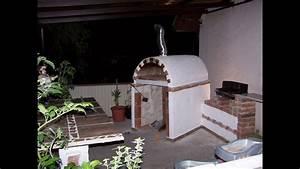 Gartengrill Selber Bauen Ytong : selbstgemachter pizzaofen steinofen holzofen ~ Watch28wear.com Haus und Dekorationen