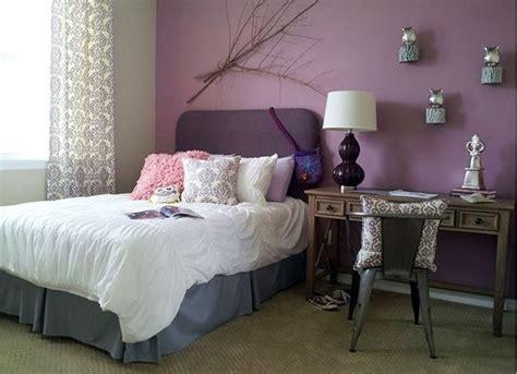 bedroom paint ideas  teenage girls lilac color