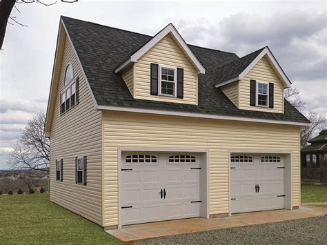 2 Story Garage Packages by Amish Made Pre Fab Garages For Sale In Oneonta Ny Amish