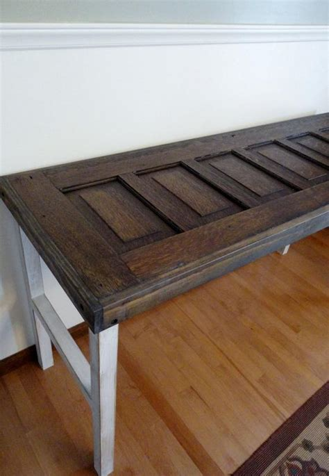 sofa table with doors antique door sofa table or entryway table