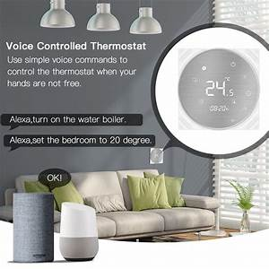 Wifi Smart Thermostat Water  Gas Boiler Temperature