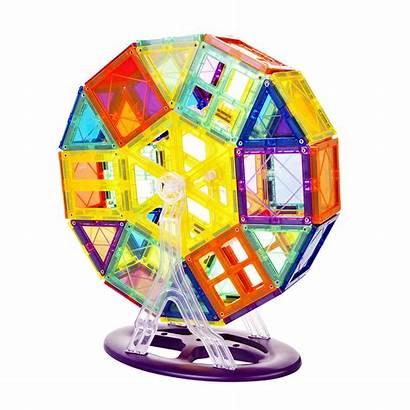 Magnetic Tiles Ferris Wheel Toy Magna Wheels