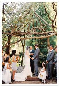 forest wedding california forest wedding morgen real weddings 100 layer cake