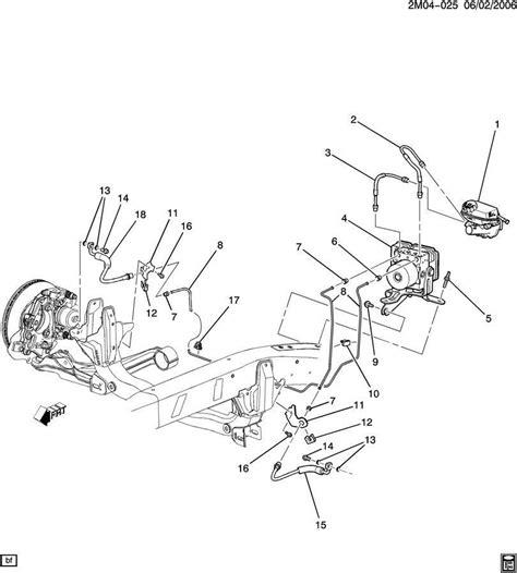 Cadillac Ct Wiring Diagram 2004 by H2 Brake Line Diagram Wiring Diagram And Fuse Box