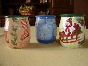 Pot En Verre Deco : photophores d cor noel autres pots yaourts en verre ~ Melissatoandfro.com Idées de Décoration