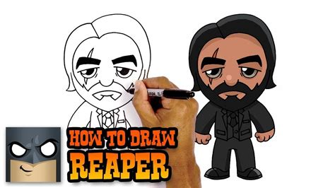 There are a few ways to get outfits in fortnite you can get them from the cash shop with v bucks another way it is to earn advancing tiers in the battle pass season. How to Draw Reaper   Fortnite (Art Tutorial)   Easy cartoon drawings, Drawings, Drawing tutorial ...