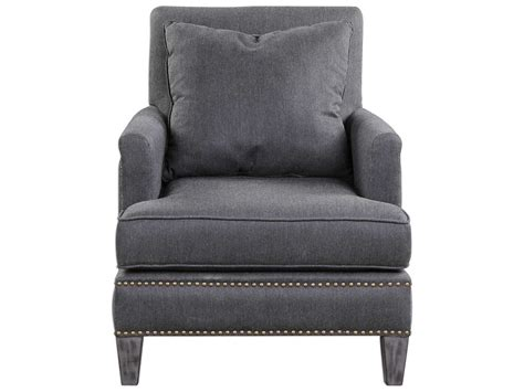 Uttermost Connolly Charcoal Gray Accent Chair