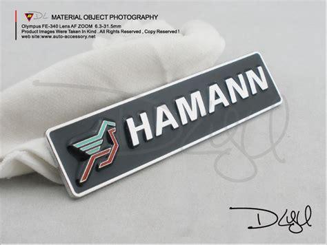 Hamann Badge For Bmw Badge-chrome Emblems & Badges