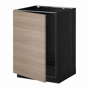 Ikea Spüle Mit Unterschrank : metod unterschrank f r sp le holzeffekt schwarz ~ Watch28wear.com Haus und Dekorationen