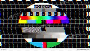 Bad TV - II - Glitchy Noise & Sound Stock Animation | 1935782