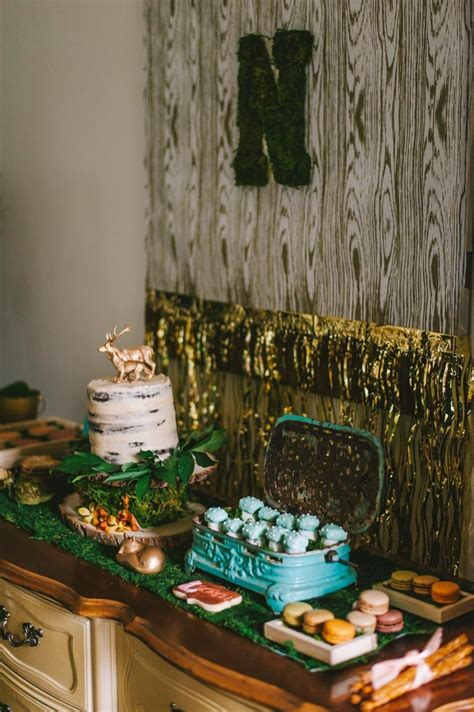 Rustic Woodland Themed Graduation Party In Tampa Fl The