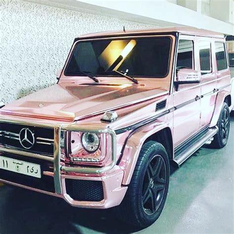 pink mercedes truck boss bossbabe gwagon benz mercedes suv