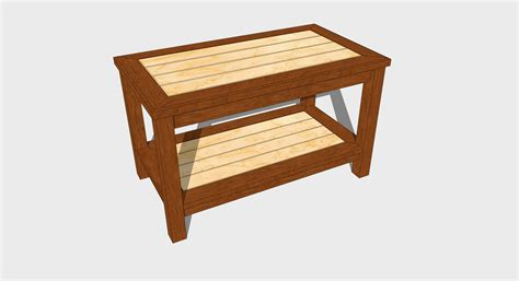 coffee table woodworking plan jeff branch woodworking