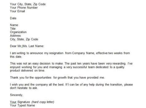 weeks notice  career advancement resignation